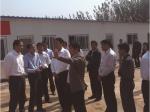 市委常委、常务副市长刘中会同志视察四和公司项目施工现场